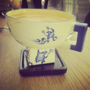 Coffee cup at Bo London