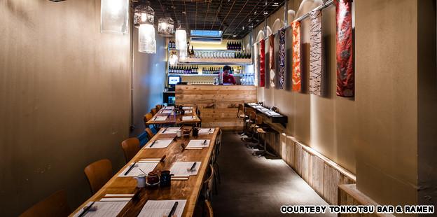 Tonkotsu Bar & Ramen on Dean Street